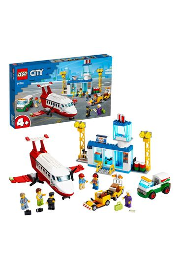 LEGO 60261 City 4+ Central Airport Charter Plane Toy