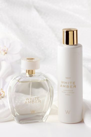 White Amber Eau De Parfum Gift Set 100ml