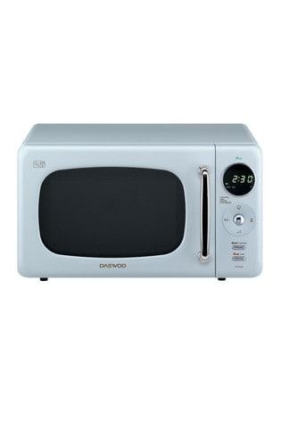 Retro Design 800w Microwave by Daewoo