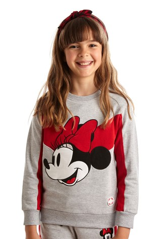 Fabric Flavours Grey Minnie Mouse™ Mode Hoody
