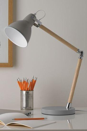 Village At Home Grey Drake Table Lamp