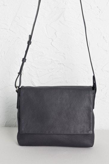 Seasalt Cornwall Grey Ursell Cross-Body Bag
