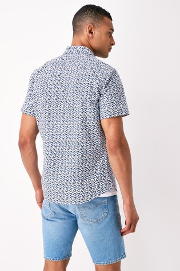 BOSS White Rash Shirt