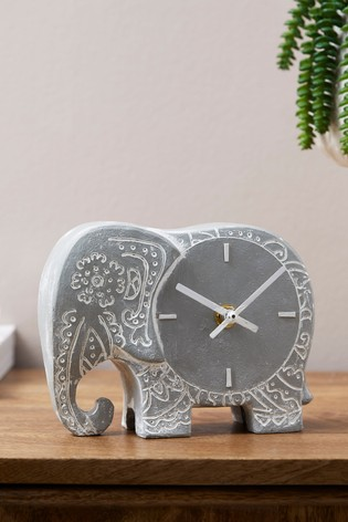 Global Geo Elephant Mantle Mantle Clock