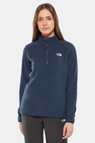 The North Face® 100 Glacier 1/4 Zip Fleece Top