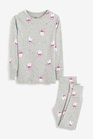 Gap Grey Unicorn Pyjamas