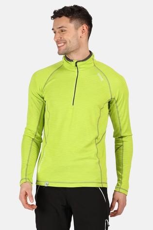 Regatta Green Yonder Half Zip Fleece
