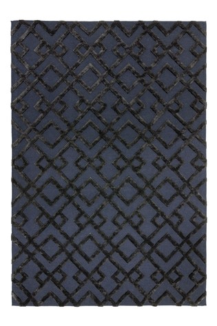 Dixon Textured Geo Rug by Asiatic Rugs