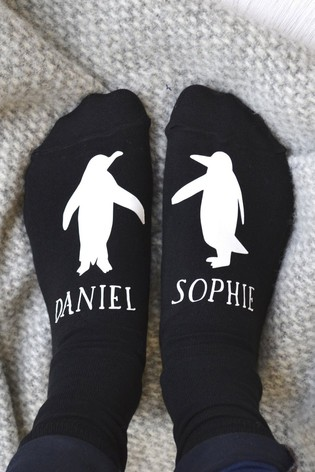 Personalised Penguin Socks by Solesmith