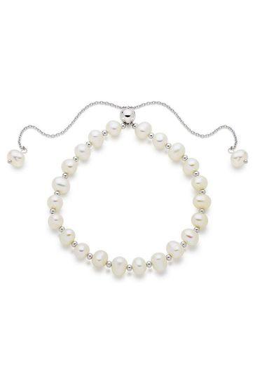 Beaverbrooks Fresh Water Cultured Pearl Bracelet