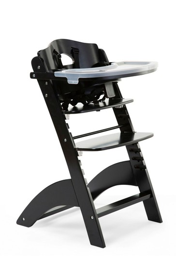 Baby Grow Lambda 3 High Chair with Tray and Cover Black