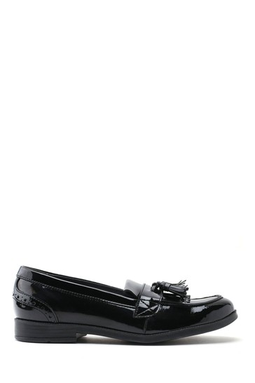 Start-Rite Sketch Black Wide Fit Patent Leather Shoes