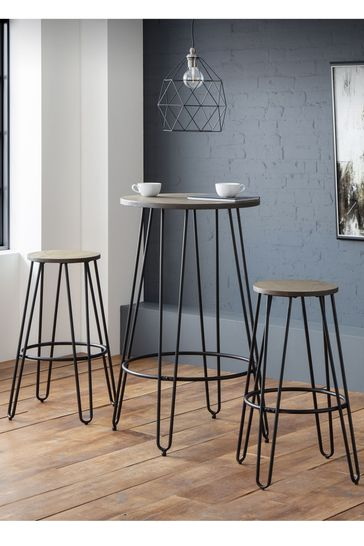 Dalston Round Bar Table By Julian Bowen