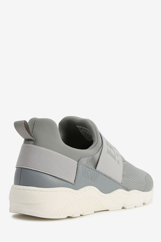 BOSS Grey Trainers