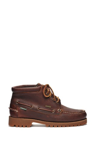 Sebago® Brown Ranger Mid Tumbled Shoes