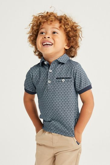Baker by Ted Baker Printed Polo