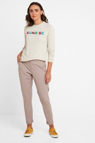 Tog 24 Womens Pink Pickering Regular Chino Trousers
