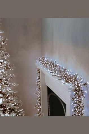 Premier Decorations Ltd Bright Clusters Timer 720 Line Lights
