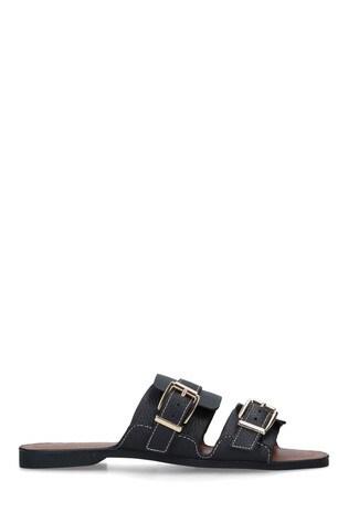 Kurt Geiger London Black Oslo Sandals