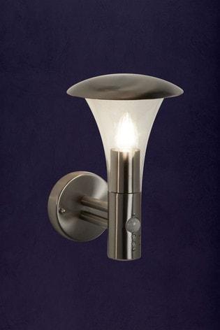 Searchlight Silver Cora 1 Light Outdoor Light