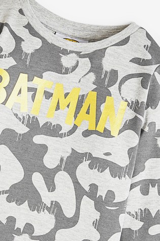 Black 2 Pack Batman® Snuggle Pyjamas (9mths-12yrs)