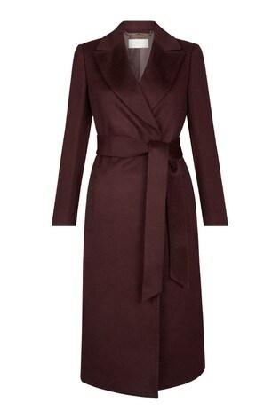 Hobbs Purple Olivia Coat