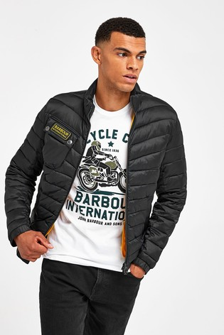 Barbour® International Chain Baffle Quilted Jacket