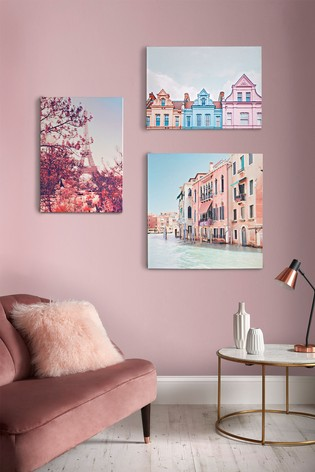 Paris In Bloom Wall Art by Art For The Home