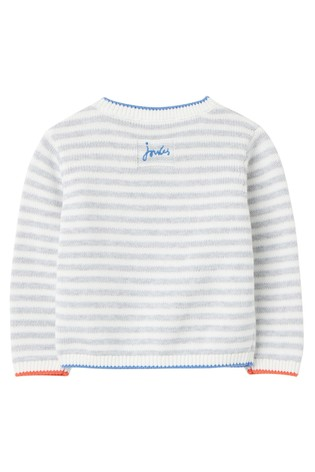 Joules Grey Peter Rabbit Ivy Knitted Jumper