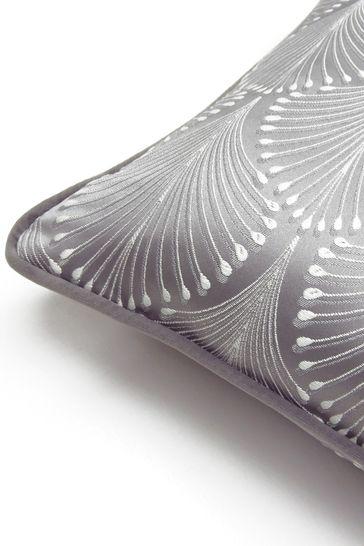 Prestigious Textiles Boudoir Chrome Feather Cushion