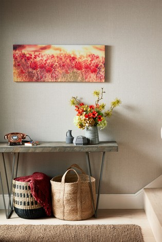 Peaceful Poppy Fields Wall Art by Art For The Home