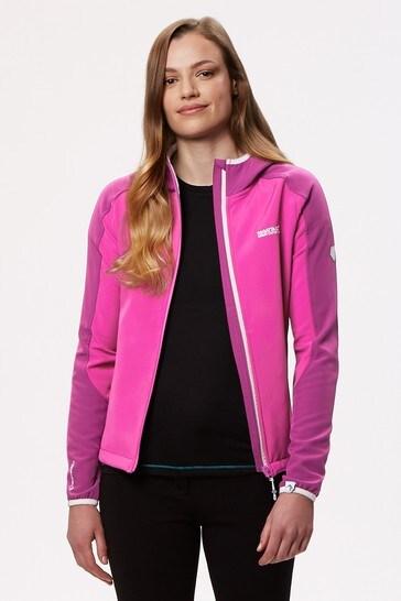 Regatta Pink Womens Arec II Softshell Jacket