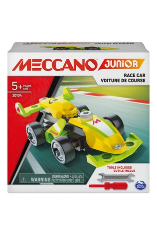 Meccano Junior Action Build Race Car Solid