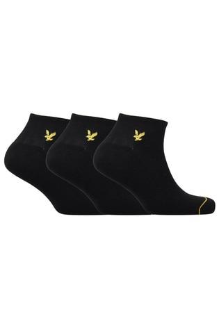 Lyle & Scott Trainer Socks 3 Pack