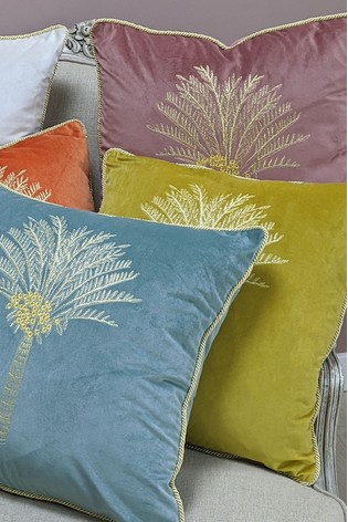 Furn Green Desert Palm Cushion