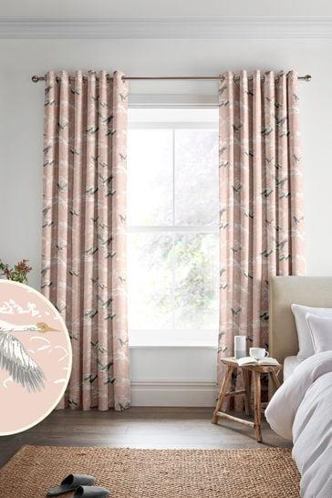 Blush Animalia Made to Measure Curtains