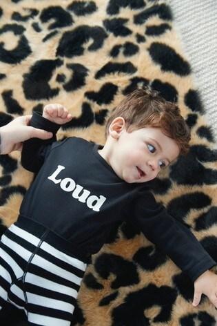 Myleene Klass Baby Organic Cotton Bodysuits 2 Pack