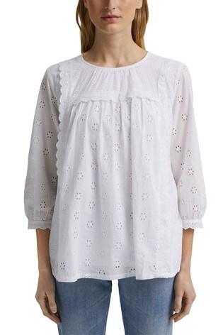 Esprit White Long Sleeve Tunic