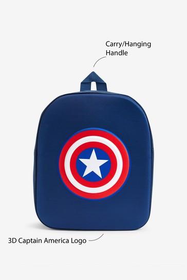 Navy Captain America Backpack