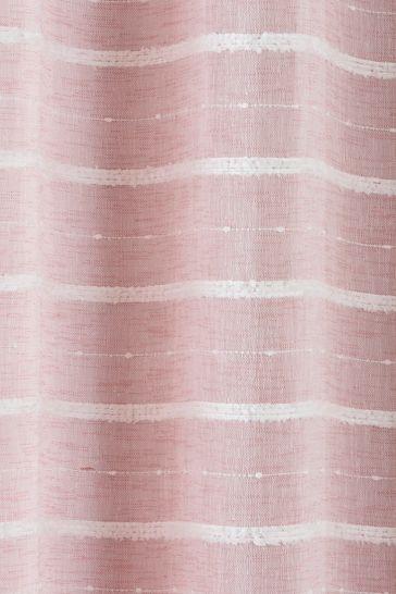 Tyrone Antigua Eyelet Voile Curtains