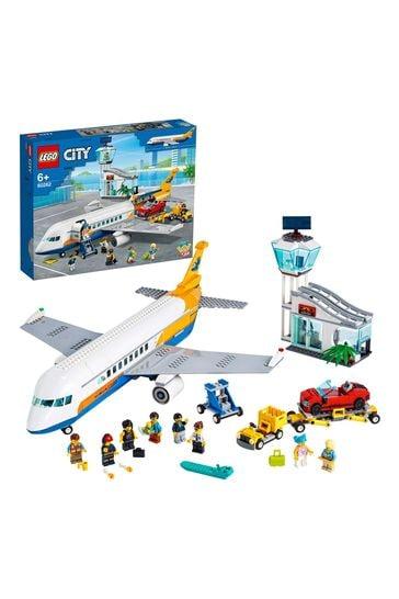 LEGO 60262 City Airport Passenger Airplane & Terminal Toy