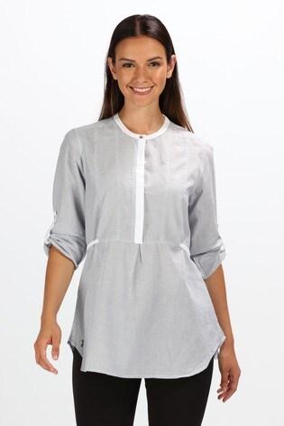 Regatta Light Grey Maladee Long Sleeve Shirt