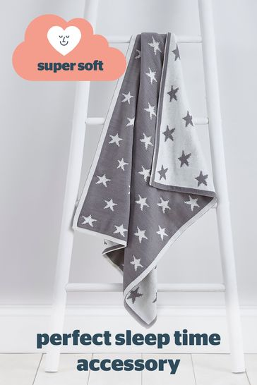 Silentnight Safe Nights Heavy Gauge Knitted Chenille Throw