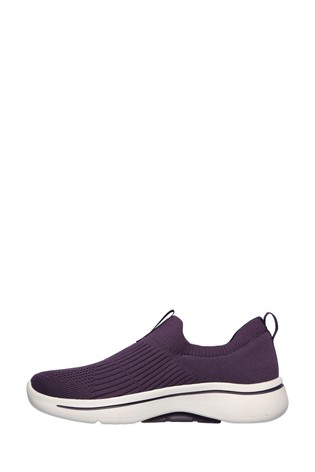 Skechers® Purple Go Walk Arch Fit Iconic Trainers