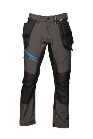 Regatta Grey Strategic Softshell Workwear Trousers
