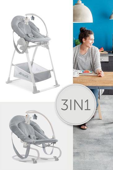Hauck Sit N Relax 3in1 Highchair Stretch Grey