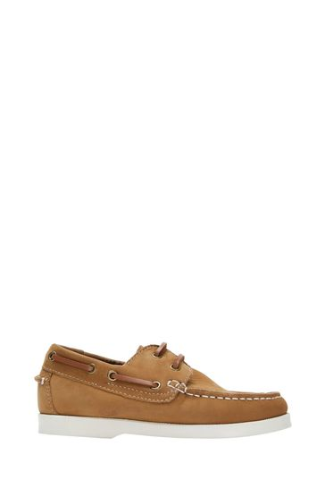 Crew Clothing Company Brown Deck Shoes