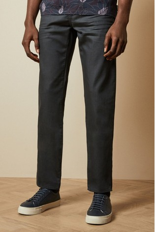 Ted Baker Opreem Original Printed Hem Jeans