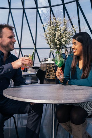 Cocktails For Two At London's Iconic Gherkin Gift Experience by Virgin Experience Days
