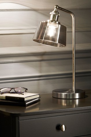 Village At Home Chrome Benedict Table Lamp